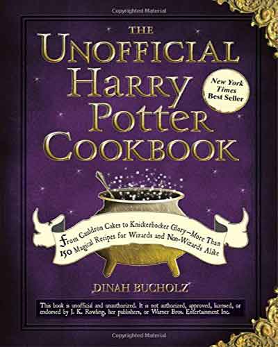 book cover the unofficial harry potter cookbook