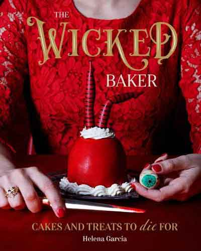 book cover of the wicked baker
