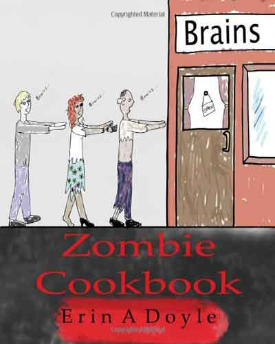 book cover zombie cookbook