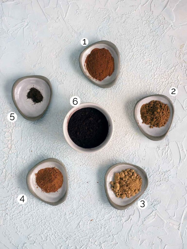chocolate spice ingredients