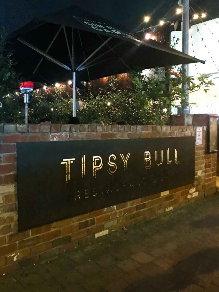 the tipsy bull canberra outside