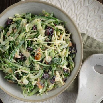 broccolini slaw recipe