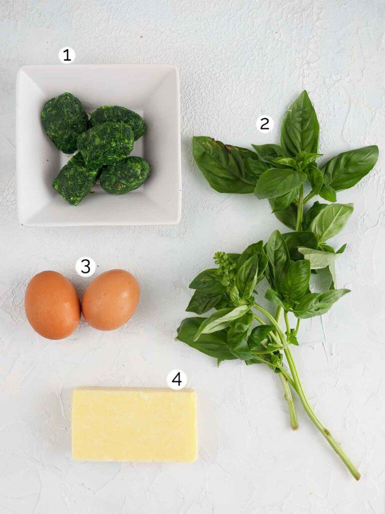 green eggs ingredients