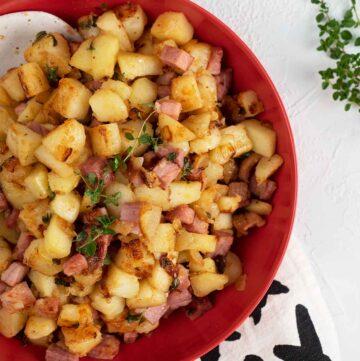 ham hash recipe