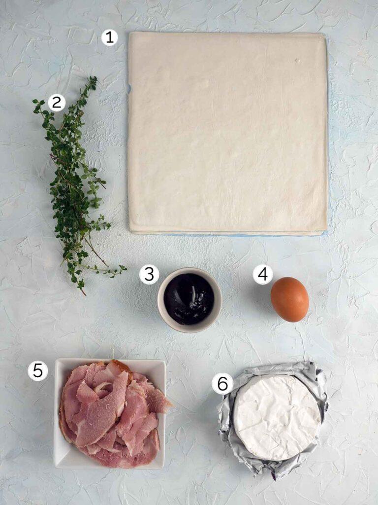 ham pies ingredients
