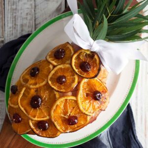old fashioned glazed ham recipe