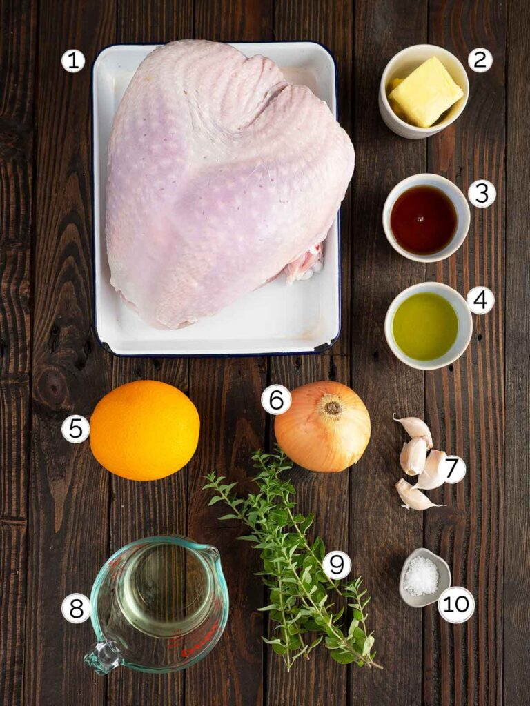 smoked turkey ingredients