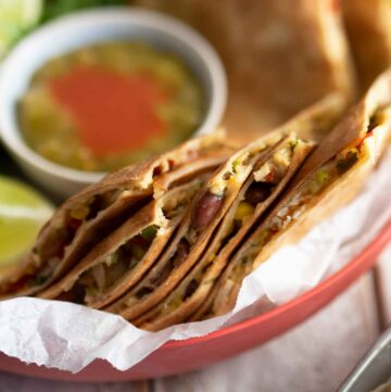 turkey quesadillas recipe