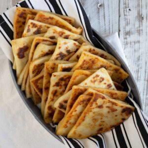 Irish Potato Bread Farls Recipe