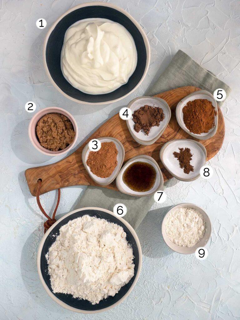 quick hot cross buns recipe ingredients