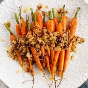 roasted dutch carrots recipe