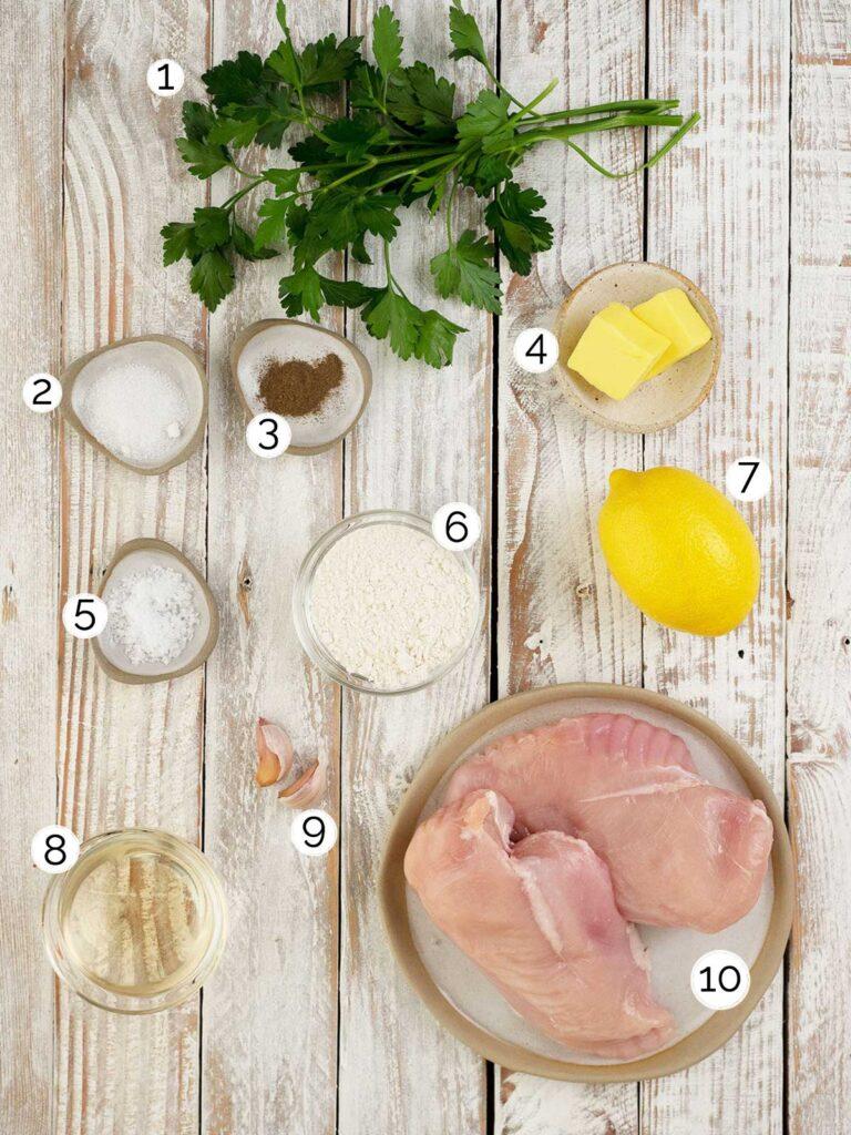 chicken in lemon sauce ingredients