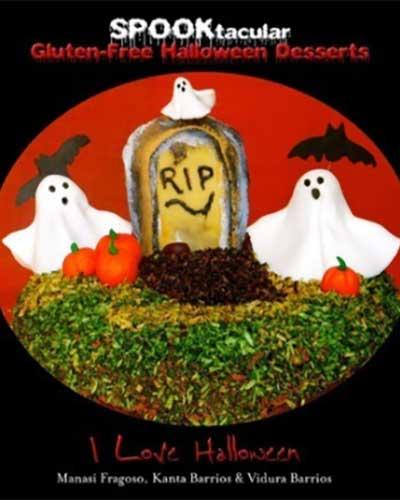 halloween cookbook cover