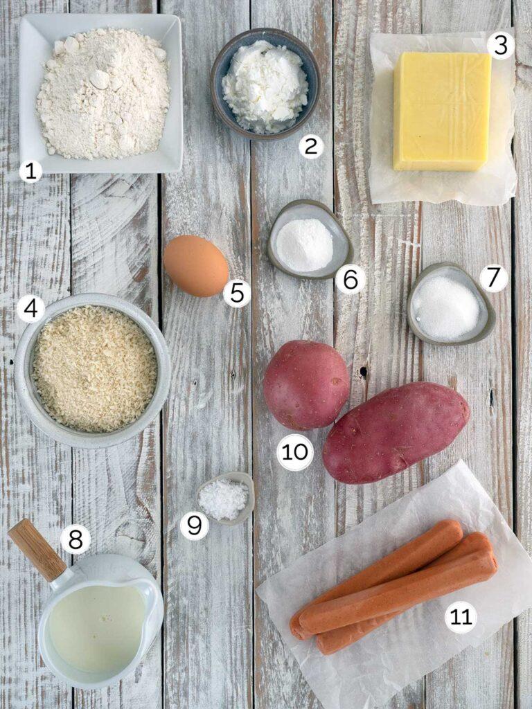 korean corn dog ingredients