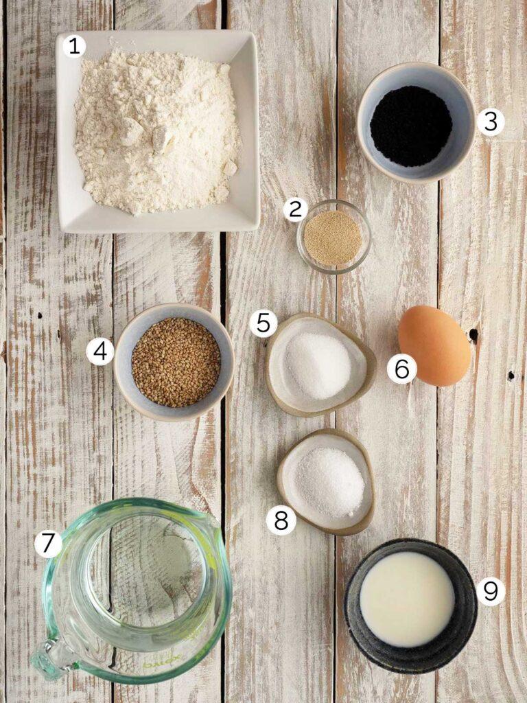 turkish bread ingedients