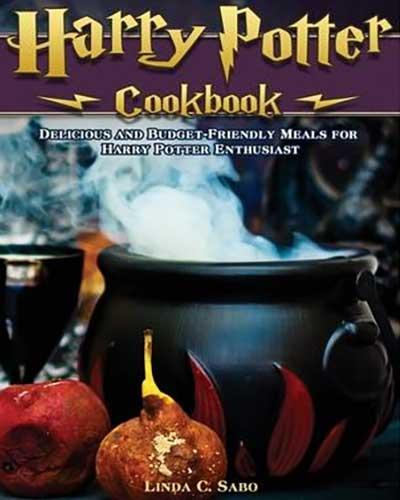 harry potter cookbook cover