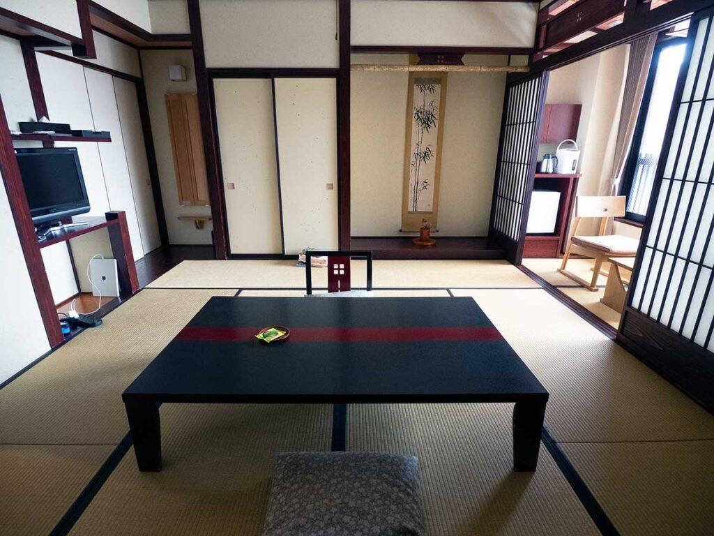 guest room of tanabe ryokan